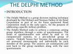 the delphi method1