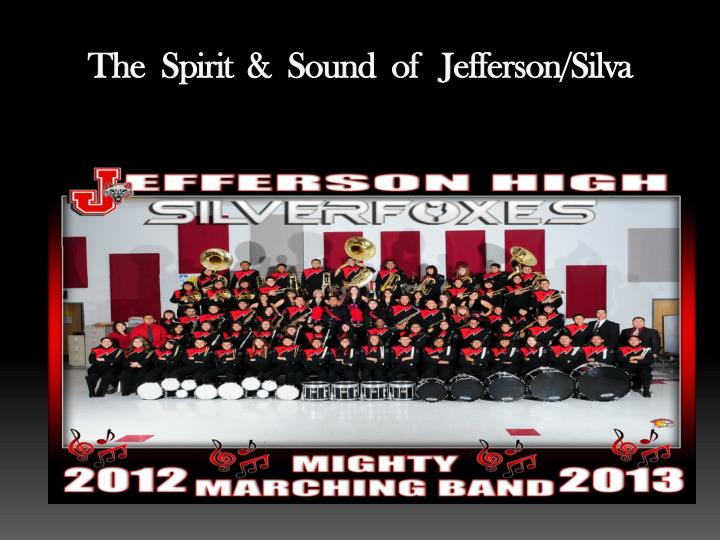 The spirit sound of jefferson silva