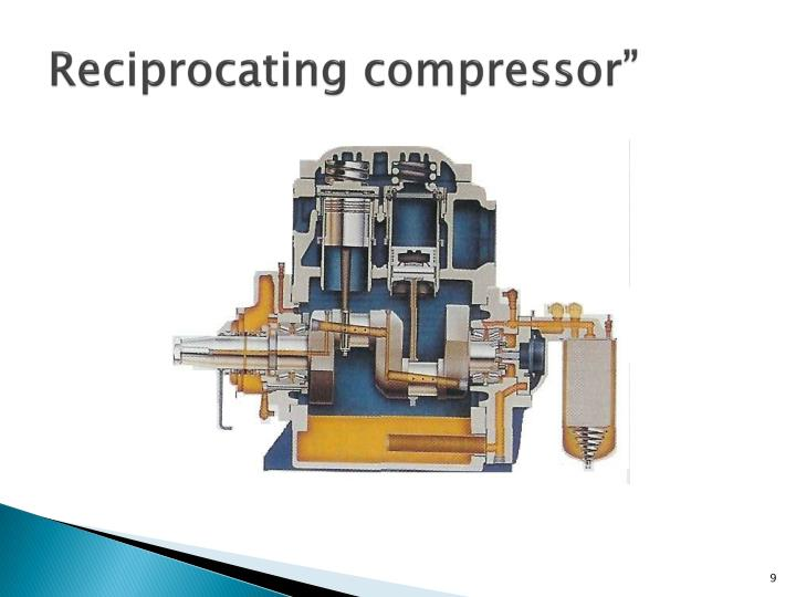Reciprocating compressor""
