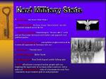 nazi military state