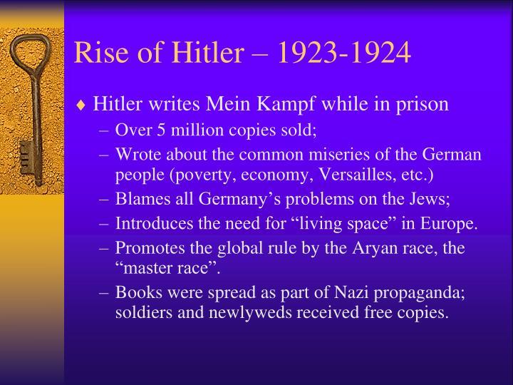 Rise of Hitler – 1923-1924