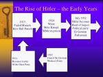 the rise of hitler the early years