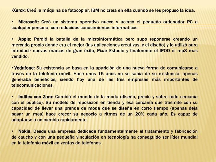 Xerox: