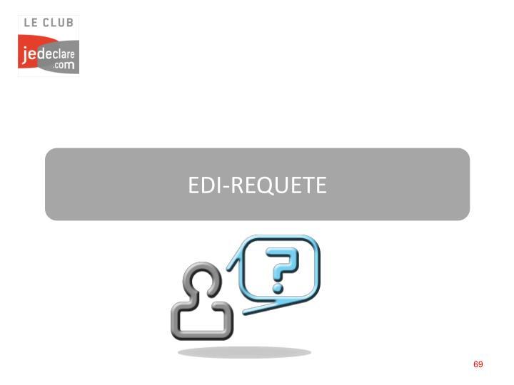 EDI-REQUETE