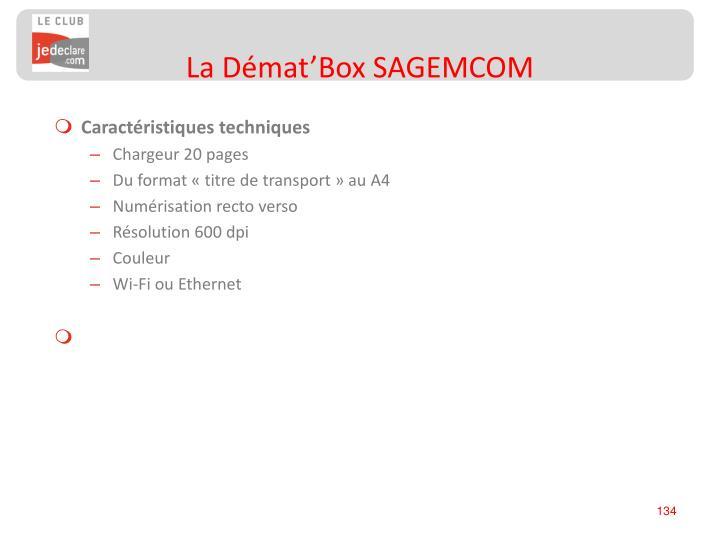 La Démat'Box SAGEMCOM