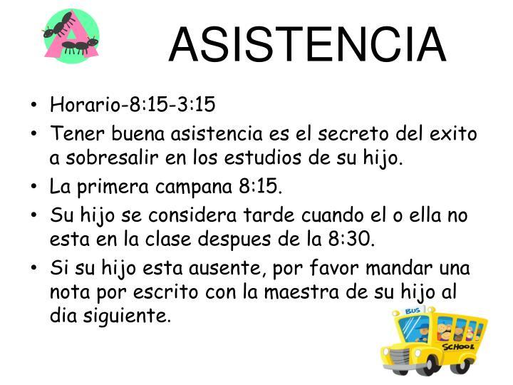 ASISTENCIA