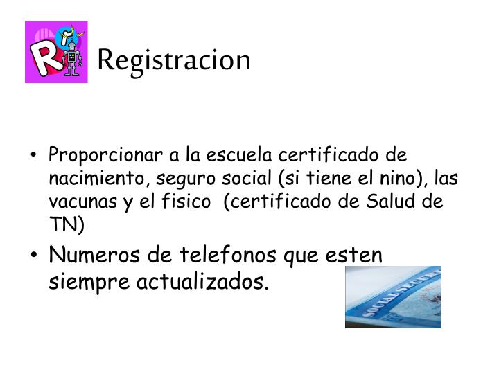 Registracion