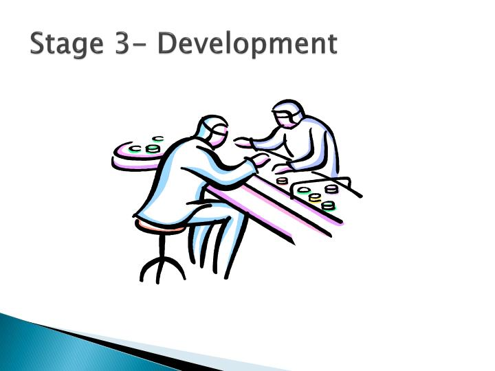 Stage 3- Development