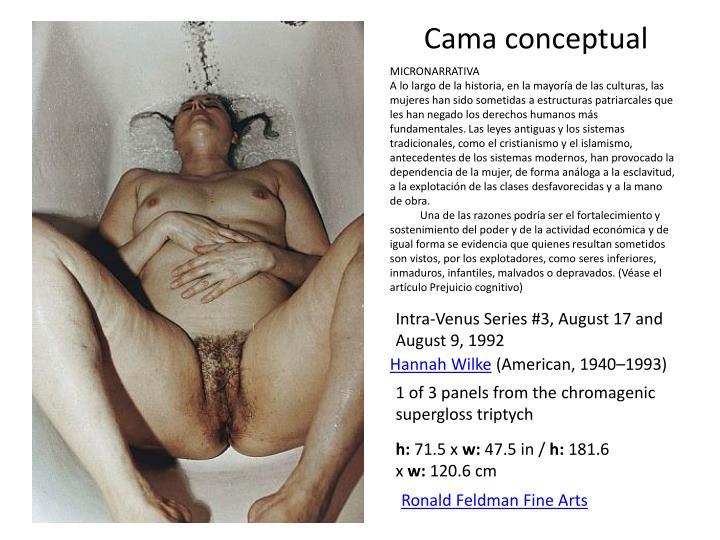 Cama conceptual