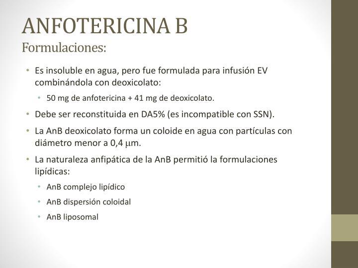 ANFOTERICINA B
