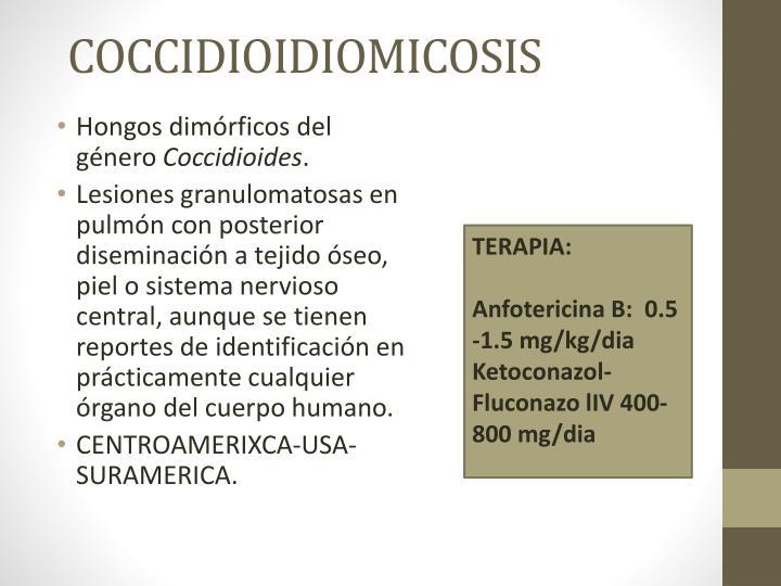 COCCIDIOIDIOMICOSIS