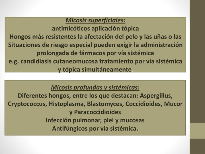 Micosis superficiales: