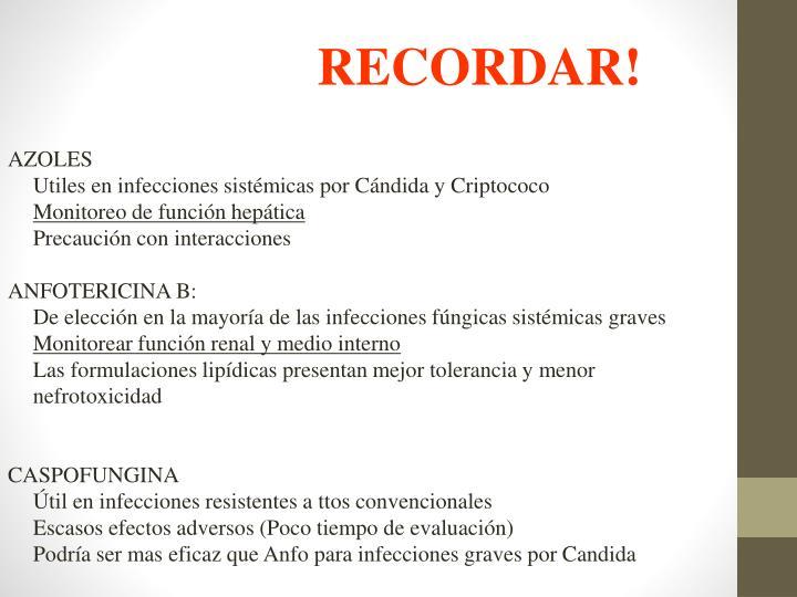 RECORDAR!
