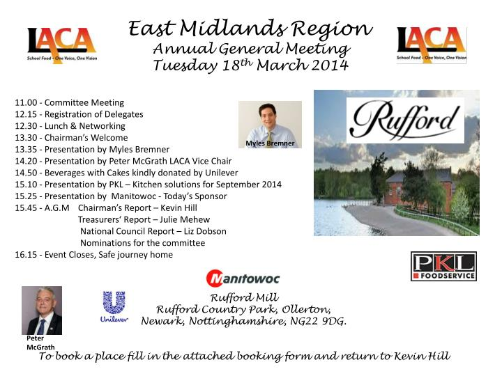 East Midlands Region