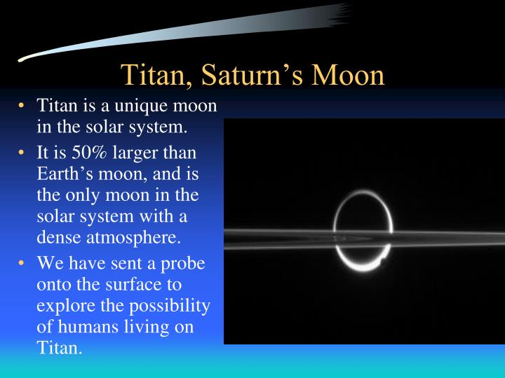 Titan, Saturn's Moon