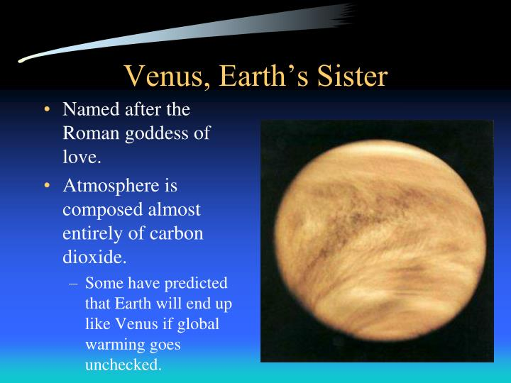 Venus, Earth's Sister