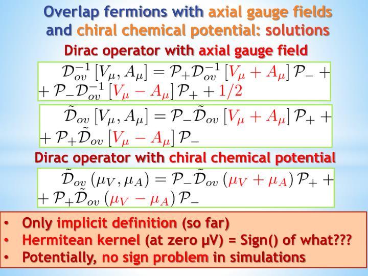 Dirac operator with