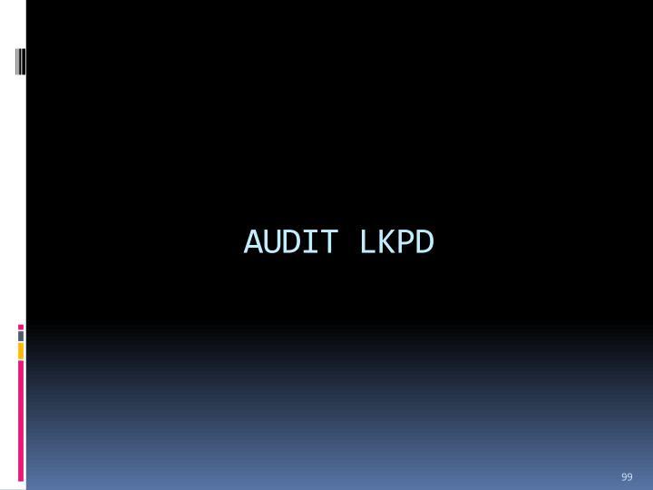 AUDIT LKPD