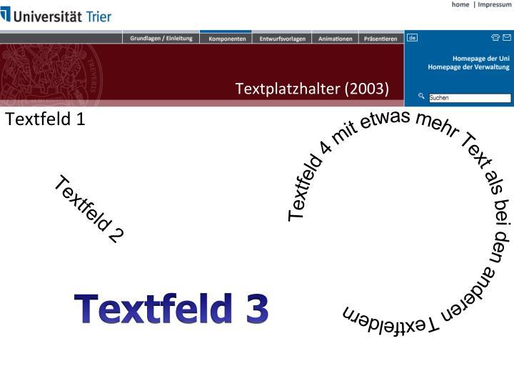 Textplatzhalter (2003)