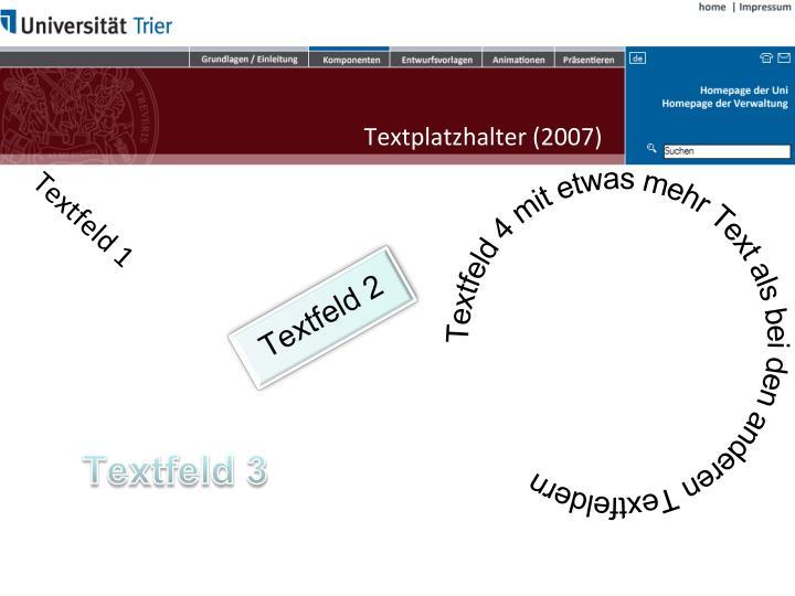Textplatzhalter (2007)