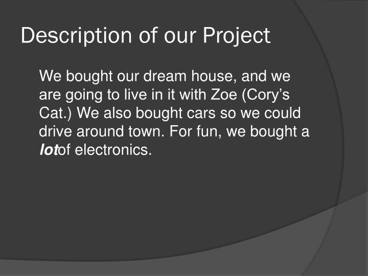 Ppt Million Project Dream House Powerpoint