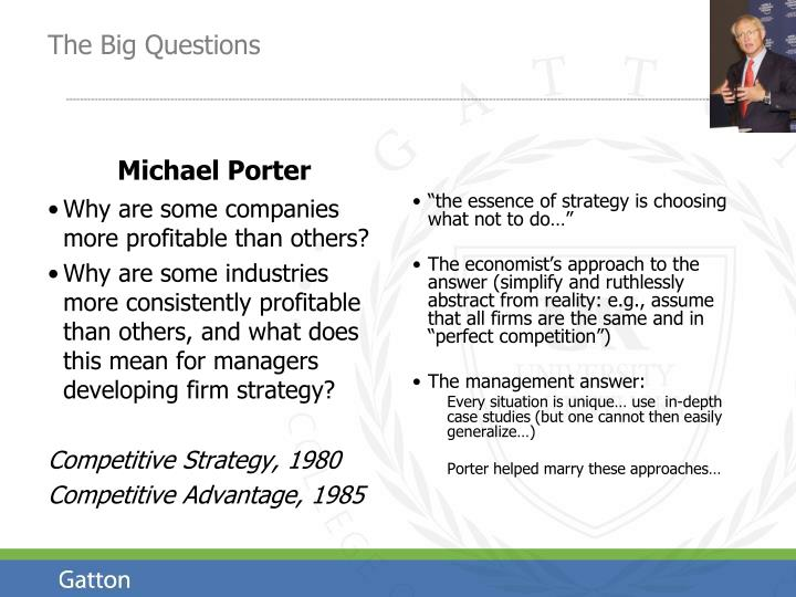 What makes some companies more profitable than others?