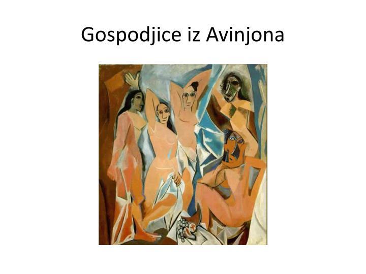 Gospodjice iz Avinjona
