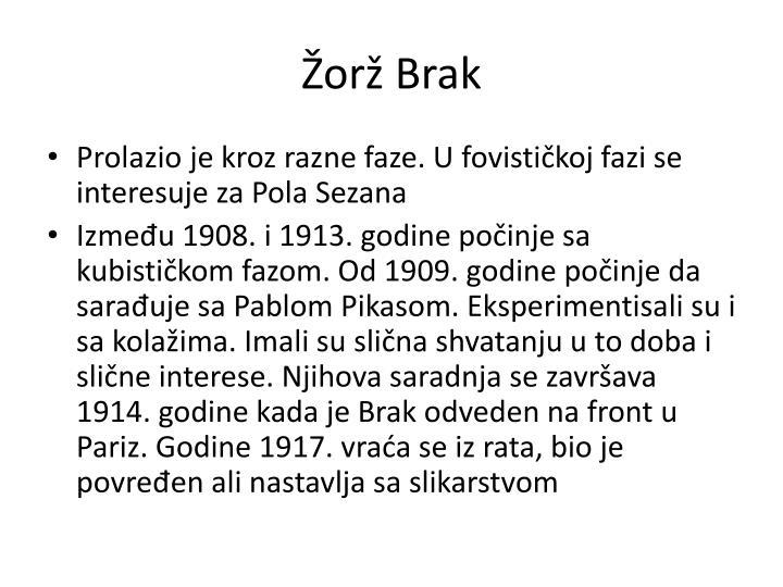 Žorž Brak