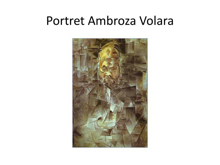 Portret Ambroza Volara