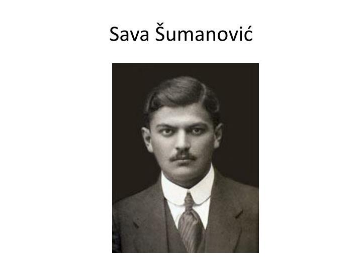 Sava Šumanović