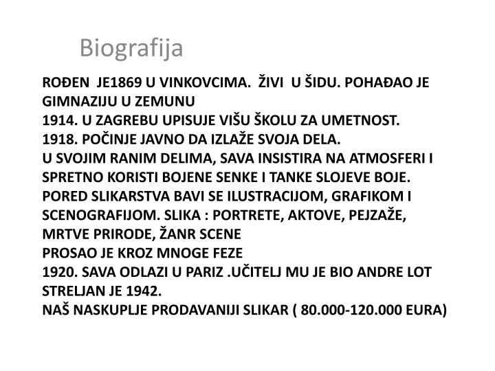 Biografija