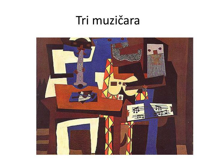 Tri muzičara