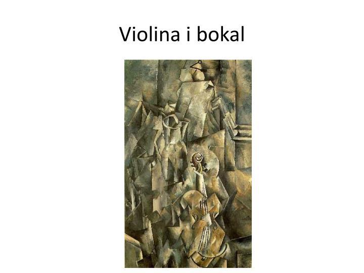 Violina i bokal