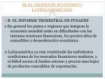 iii el ambiente economico latinoamericano1