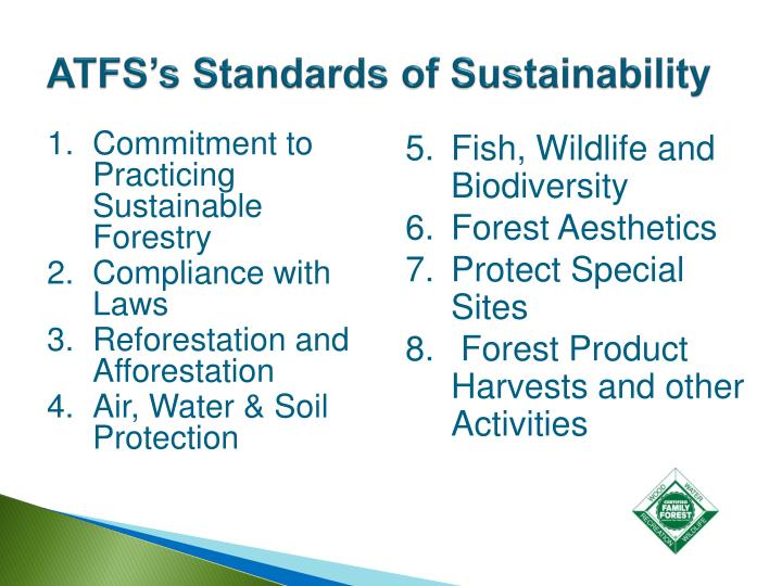 Commitment to Practicing Sustainable Forestry