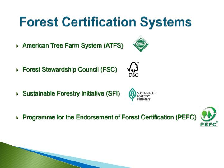 Forest Certification Systems