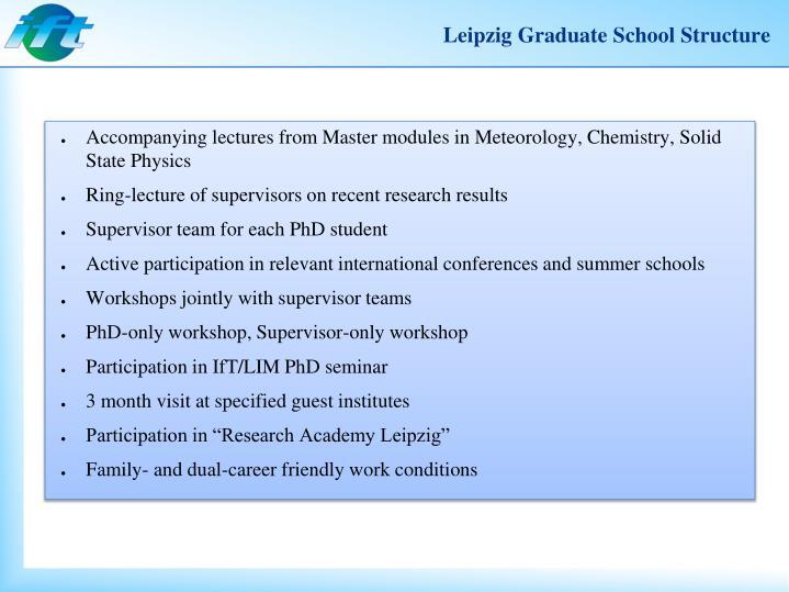 Leipzig Graduate
