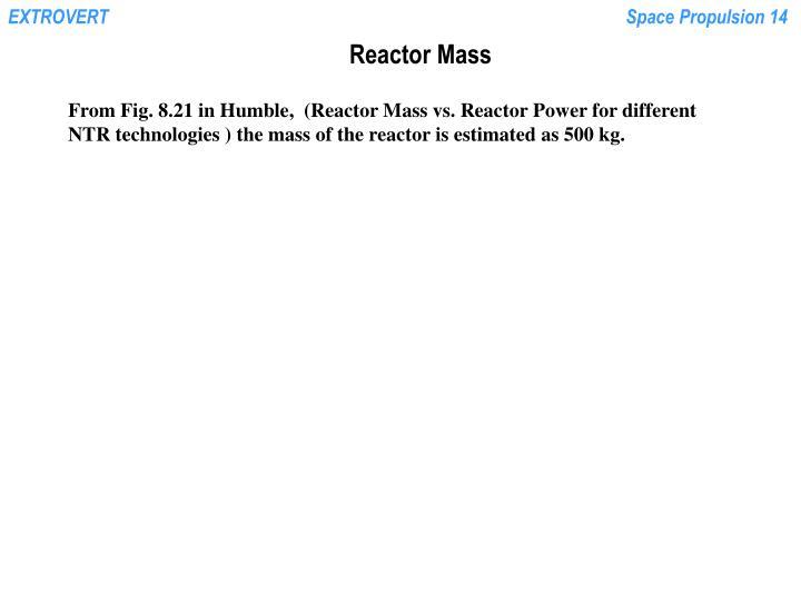 Reactor Mass