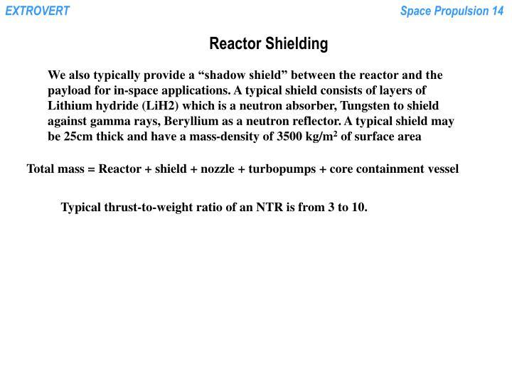 Reactor Shielding