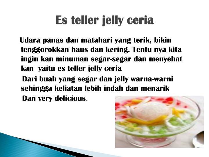 Es teller jelly ceria