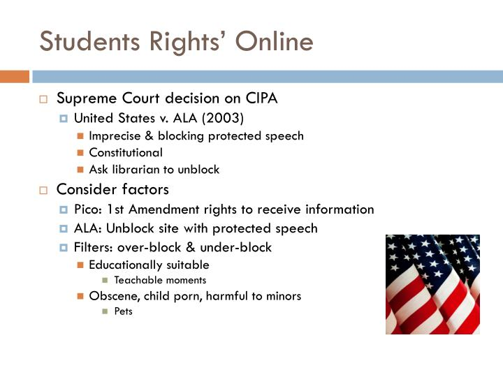 Students Rights' Online