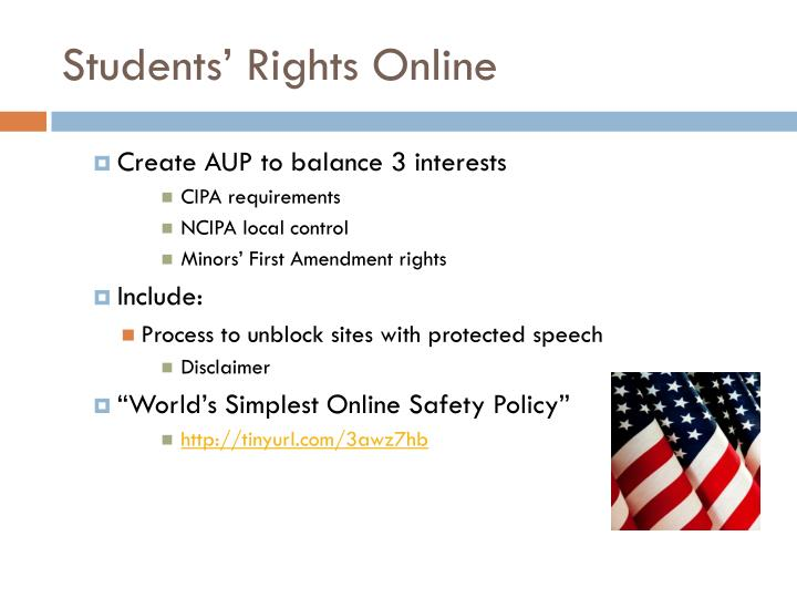 Students' Rights Online