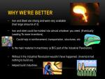 why we re better