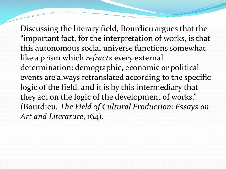 the legacy of pierre bourdieu critical essays The legacy of pierre bourdieu: critical essays london: anthem press, 2011  470 pp (hbk) reviewed by: elizabeth b silva, open university, uk this is a very .