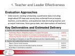 1 teacher and leader effectiveness2