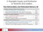 2 equitable supply and distribution of teachers and leaders4