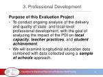 3 professional development