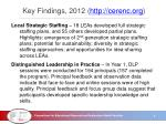 key findings 2012 http cerenc org