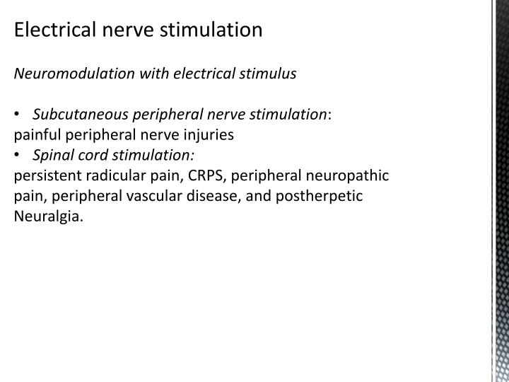 Electrical nerve