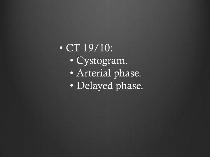 CT 19/10: